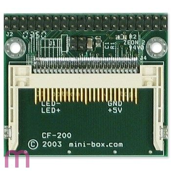 iTuner CF200, Compact Flash IDE Adapter, mit 40pin
