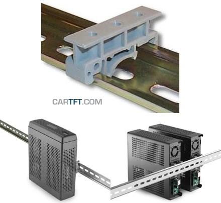 DIN-Rail (Hutschiene) Adapter f. M350 Gehäuse