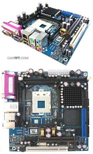 KONTRON 886LCD-M/mITX *Restposten mit Intel Celero