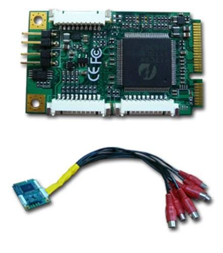 HRT VCC-310 Mini-PCIe (4x Video/Audio Capture Card