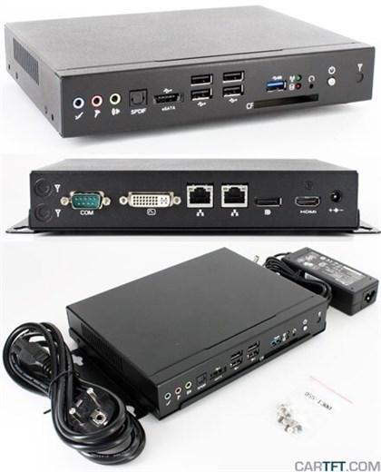 DSS-1300 Barebone (Intel Core i3/i5/i7 Mobile, eSA