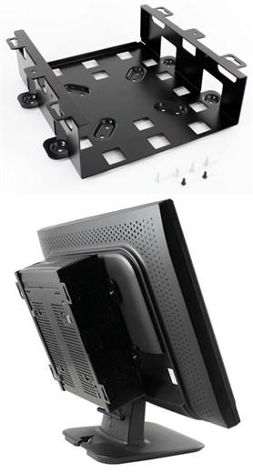 VESA-Halterung f. Kombi Display und M350 Gehäuse