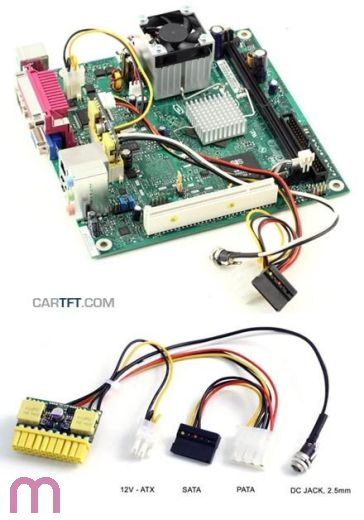 picoPSU-90 DC/ATX (90 Watt) + 90W Netzadapter