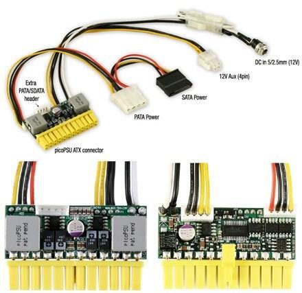 picoPSU-150-XT DC/ATX(150 Watt) + 192W Netzadapter
