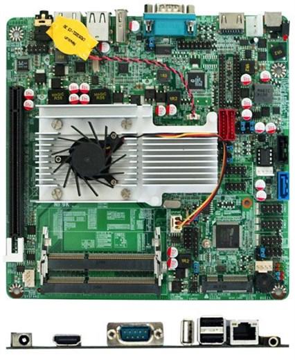 Jetway NF9KC-1047 (Intel HM65)