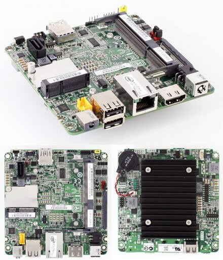 Intel NUC DE3815TYBE Mainboard (Next Unit of Compu