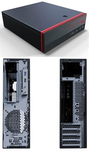 Morex Mini-ITX / Micro-ATX Gehäuse SFF506 (300W)