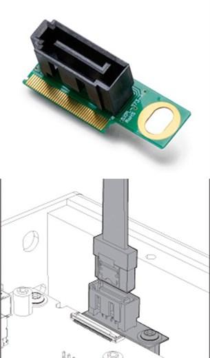 Akasa AK-PCCMSA-03 (Intel NUC SATA Header NUC5i5MY