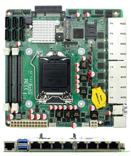 Jetway NF592-Q170 (Intel Q170 Express)