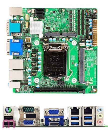 Jetway NFS5Z-IH81 (Intel H81)