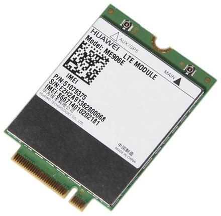 HSPA / UMTS / EDGE / LTE 4G M.2 NGFF Modem (Huawei