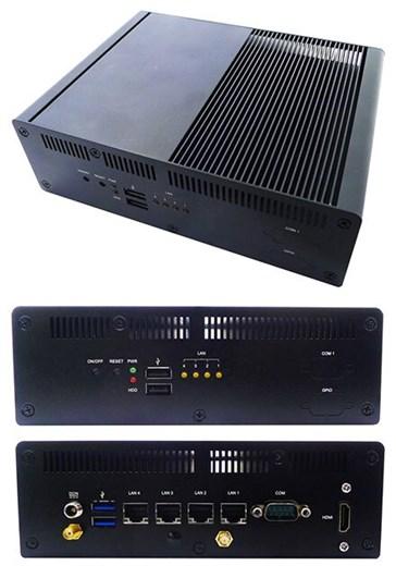 Jetway HBFDF731-3955-B (Intel Kabylake, 4x LAN)