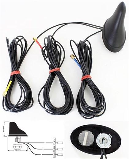 Hirschmann GPS 2400 CELLULAR (Triple Fahrzeug-Dach
