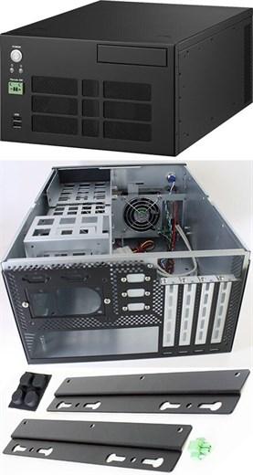 STM749 Mini-ITX/Micro-ATX Gehäuse (1x 3.5, 2x 2.5