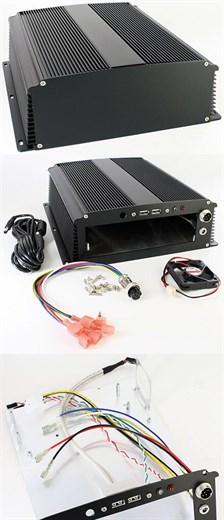 VoomPC-1B Mini-ITX CarPC Gehäuse (ideal für M2-ATX