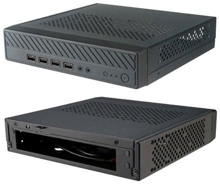 Akasa Cypher MX Thin-ITX Gehäuse (A-ITX38-M1B)