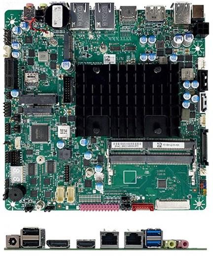 Mitac PD10EHI-N6211 (Intel DN2800MT5) Thin-ITX (In