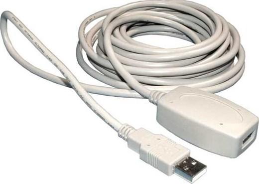USB Verlängerungskabel - A->A 5m, aktiv