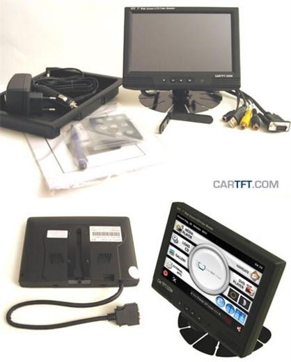MM400 - VGA 7 TFT - Touchscreen USB - PAL/NTSC -