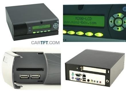 M300-LCD Gehäuse (1x PCI)
