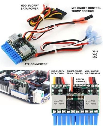 M3-ATX 6-24V DC/DC (125 Watt) [picoPSU-Format !]
