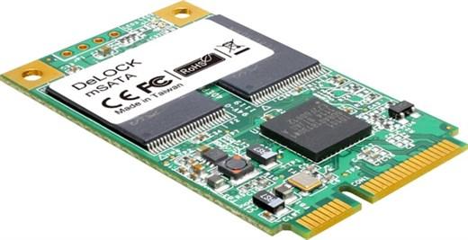 Delock 54705 - Dieses mSATA Flash Modul unterstütz