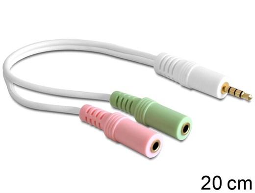 Delock 65447 - Dieser Headset Adapter von Delock e