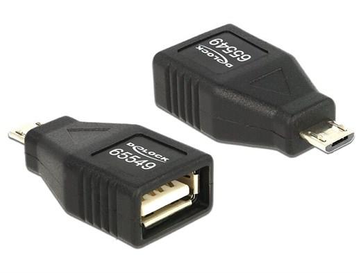 Delock 65549 - Mit diesem Micro USB Adapter von De