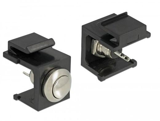 Delock 86402 - Dieser Keystone Drucktaster von Del