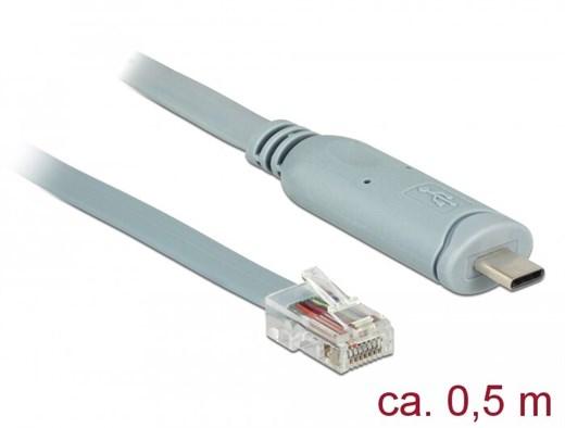 Delock 89917 - Dieser USB 2.0 zu RS-232 Adapter vo
