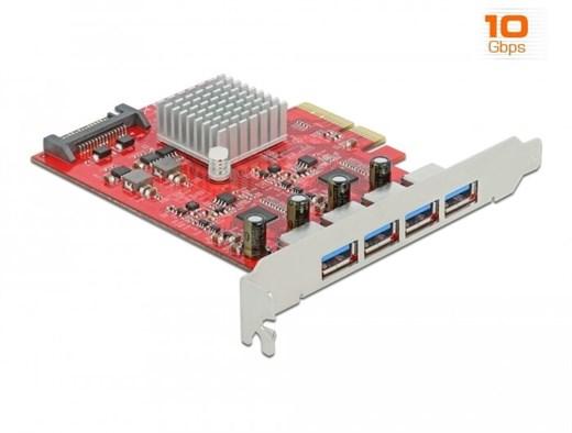Delock 90481 - Die PCI Express Karte von Delock er