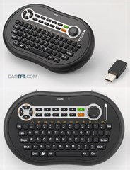 CTFWIKE-4 Wireless Funk-Tastatur mit Maus-Stick (1