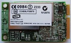 Wireless LAN Mini-PCI Express [Broadcom BCM94321MC