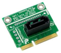 mSATA zu SATA Adapter (Standard SATA an MiniPCI-E