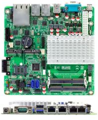 Jetway JNF9HG-2930 - Mini-ITX motherboard with Int