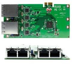 Jetway ADD-ON ETB4B (4x GigaLAN Bypass, Intel) [NF