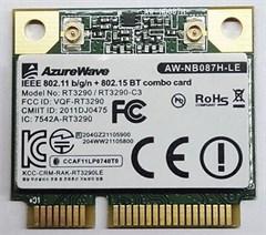 Wireless LAN / Bluetooth Mini-PCI Express [AzureWa