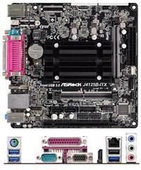 ASRock J4125B-ITX (Intel Celeron J4125 4x2.0Ghz, 1